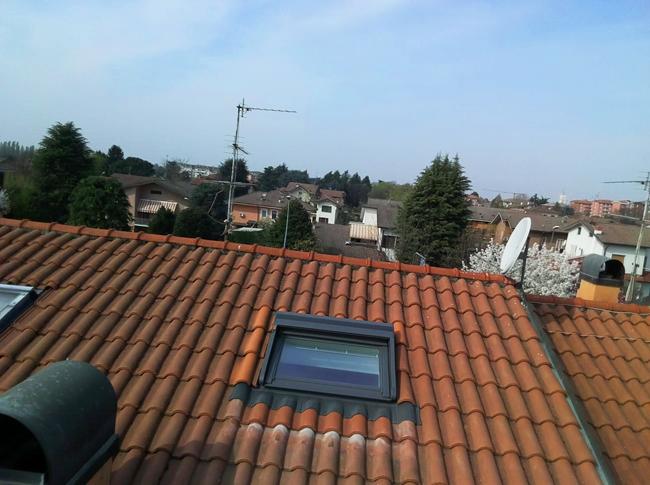 Drone a Cernusco sul Naviglio per problema infiltrativo