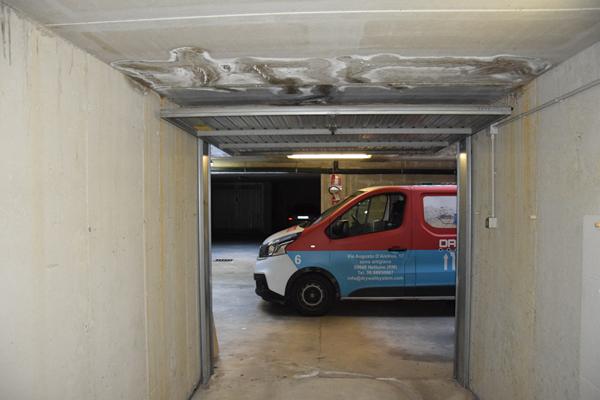 Dry Wall System Iniezione resina per infiltrazioni box a Cernobbio - Lago di Como