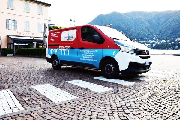 Risanamento box con resina idroreattiva e idroespansiva per infiltrazioni box a Cernobbio - Lago di Como